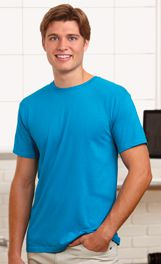 Men's Fine Jersey Fitted Tee